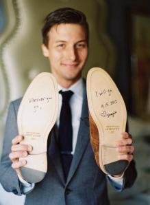 shoes  - message - shayda & lockett