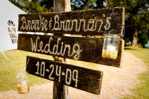 signs - brooke and brannon