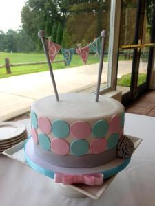 shower - cake